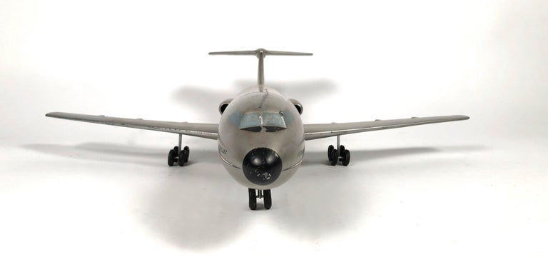 Mid-Century Modern Vintage American Airlines Astrojet Aviation Model For Sale