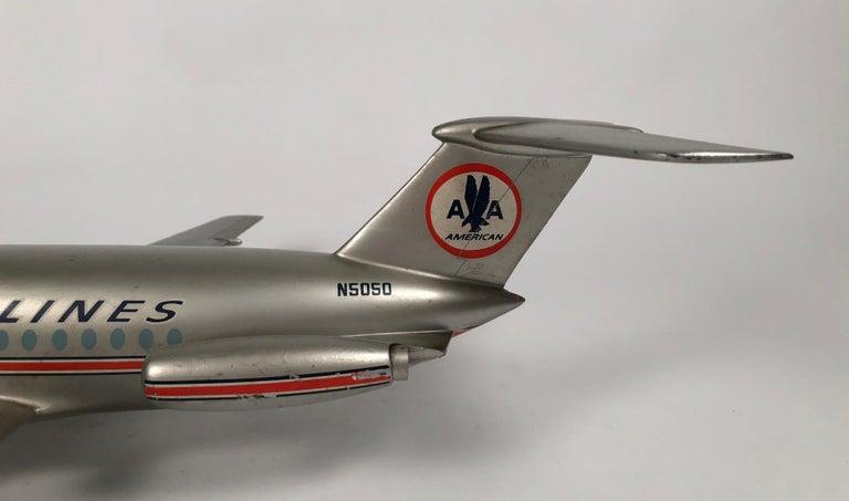 Metal Vintage American Airlines Astrojet Aviation Model For Sale