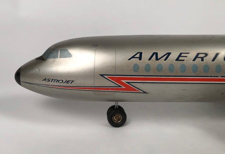 Vintage American Airlines Astrojet Aviation Model For Sale 1