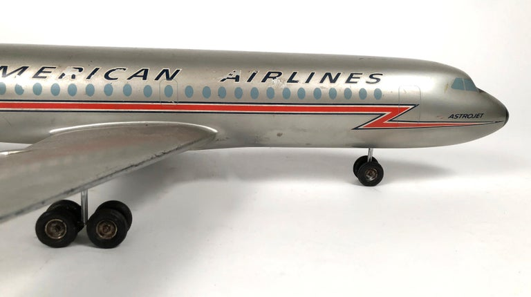 Vintage American Airlines Astrojet Aviation Model For Sale 4