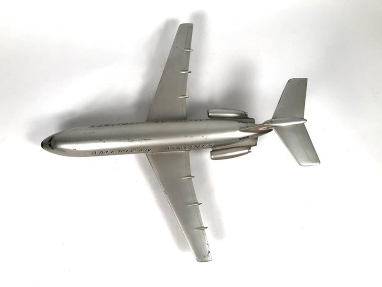 Vintage American Airlines Astrojet Aviation Model For Sale 5