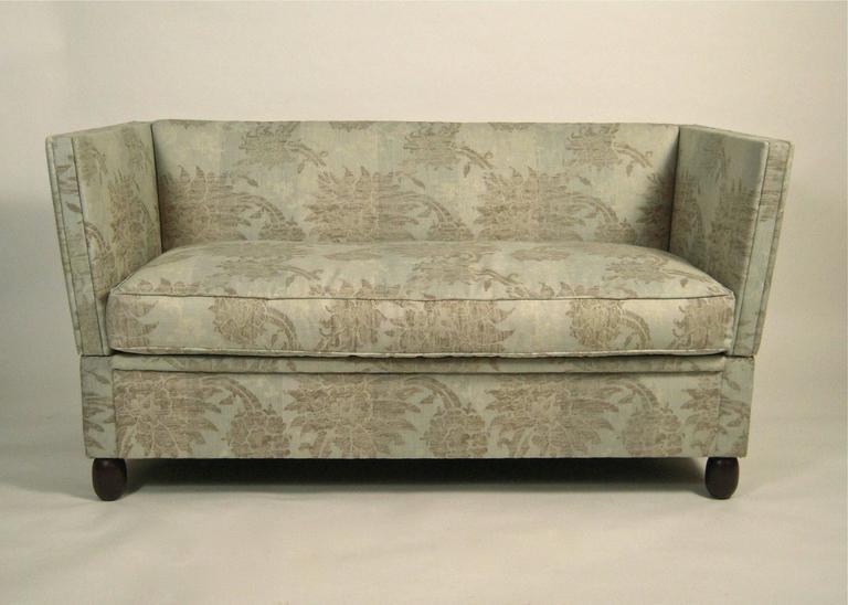 "Small Knole Sofa: Pair Of Small Knole Sofas, 57"" Long At 1stdibs"