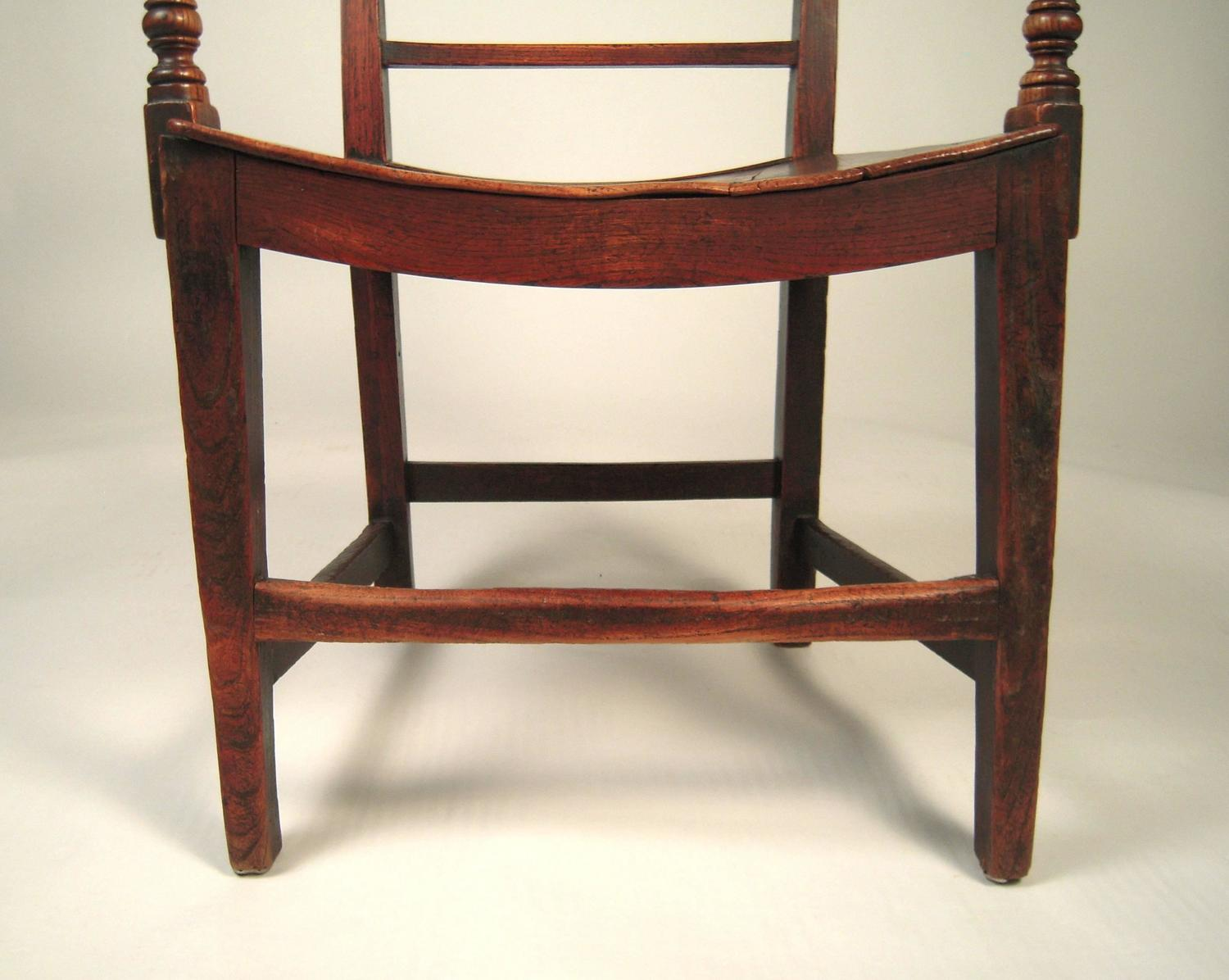 English country regency armchair in elm at 1stdibs for English country furniture