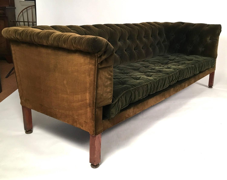 green velvet tufted sofa smileydot us