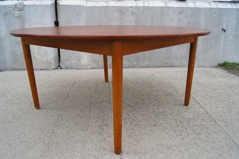 teak folding coffee tablepoul volther for frem rojle for sale