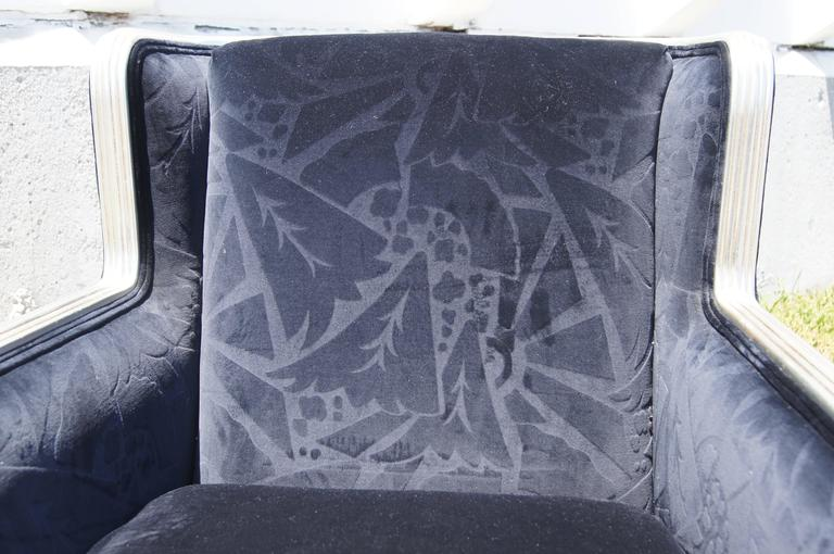 American Deco-Style Club Chair by Interior Crafts For Sale
