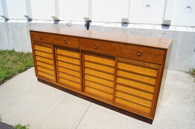 Latest Edward Wormley Designed This Sideboard Model A For Dunbar In With  Japanese Fir With Bro Sideboard