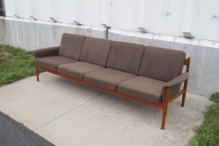 Superb Rare Four Seat Teak Sofa By Grete Jalk For France Sons Download Free Architecture Designs Xaembritishbridgeorg