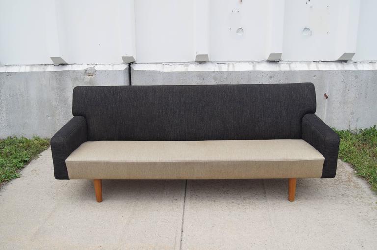 Scandinavian Modern Two-Tone AP33 Sofa by Hans Wegner for A.P. Stolen For Sale