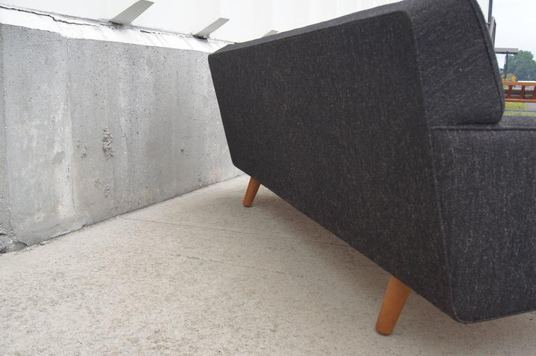 Two-Tone AP33 Sofa by Hans Wegner for A.P. Stolen In Excellent Condition For Sale In Boston, MA