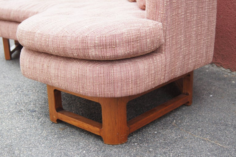 Upholstery Janus Sofa, Model 6329, by Edward Wormley for Dunbar For Sale