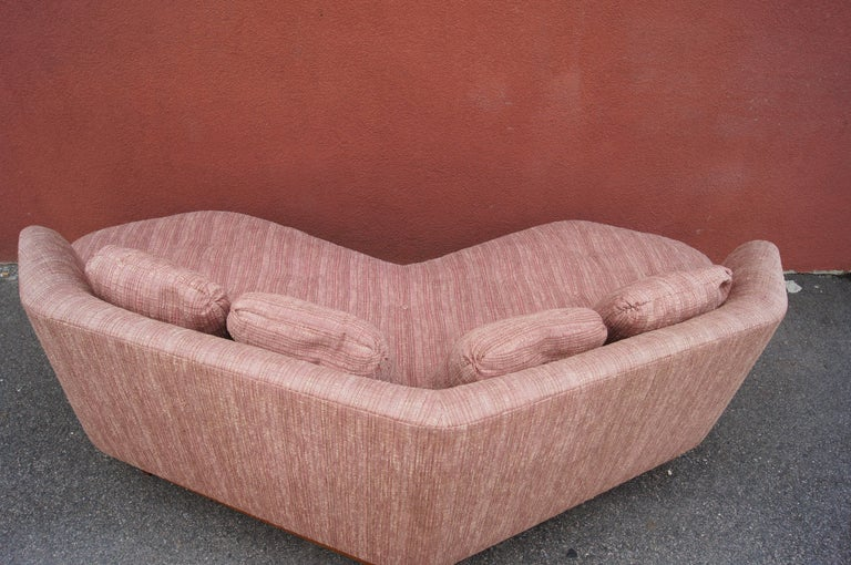 Janus Sofa, Model 6329, by Edward Wormley for Dunbar For Sale 1