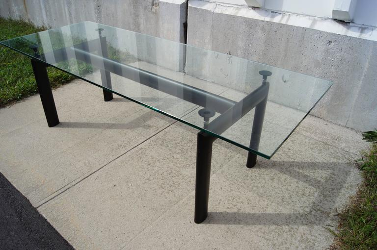 Lc6 table by le corbusier pierre jeanneret and charlotte - Table le corbusier lc6 ...