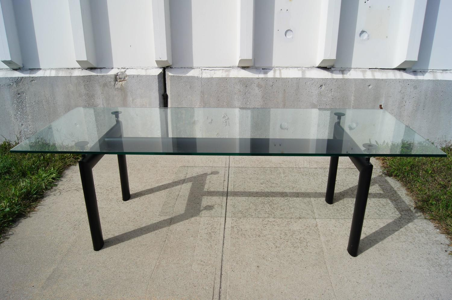 Lc6 table by le corbusier pierre jeanneret and charlotte perriand at 1stdibs - Table basse le corbusier ...