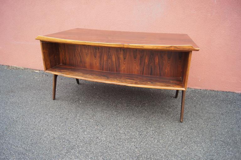 Rosewood Desk, Model SH 180, by Svend Aage Madsen for Sigurd Hansen For Sale 1