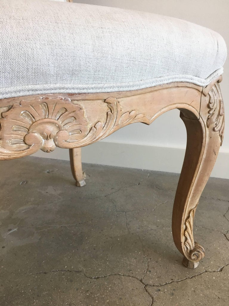 Set of Six Louis XV Style Side Chairs For Sale 1