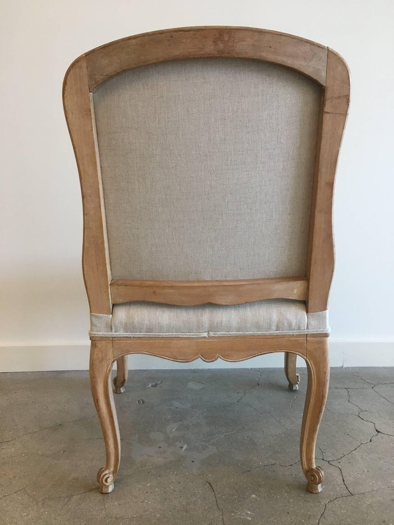 Mid-20th Century Set of Six Louis XV Style Side Chairs For Sale