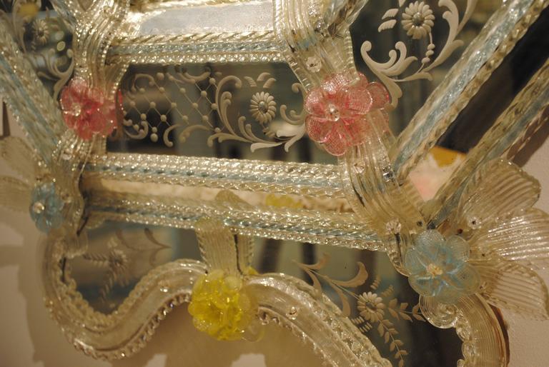 19th Century Venetian Mirror For Sale 3
