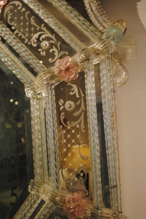 19th Century Venetian Mirror For Sale 4