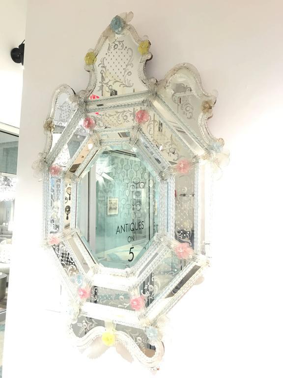 Italian 19th Century Venetian Mirror For Sale