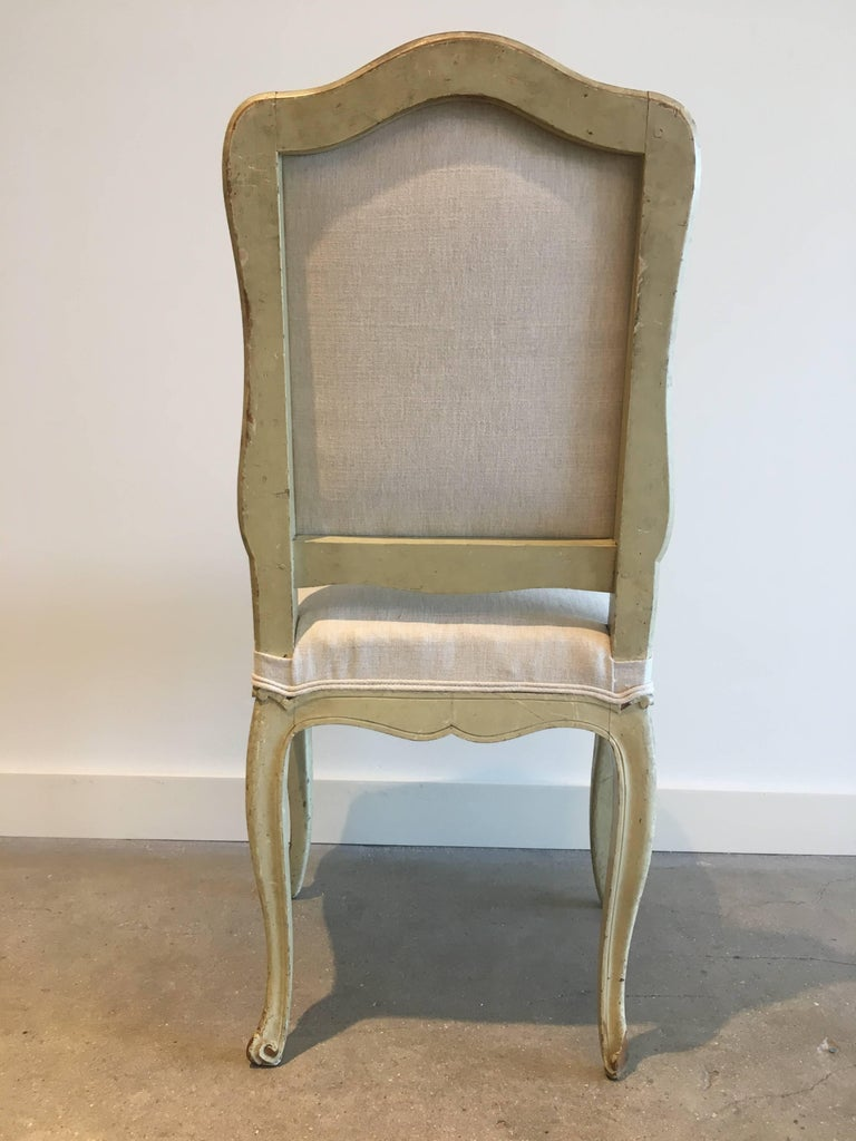 Set of Six 19th Century Louis XV Dining Chairs In Excellent Condition For Sale In Boston, MA