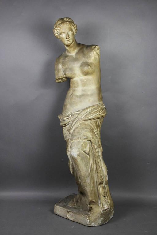 Grand Tour Caproni Brothers Plaster Casting of Venus De Milo For Sale