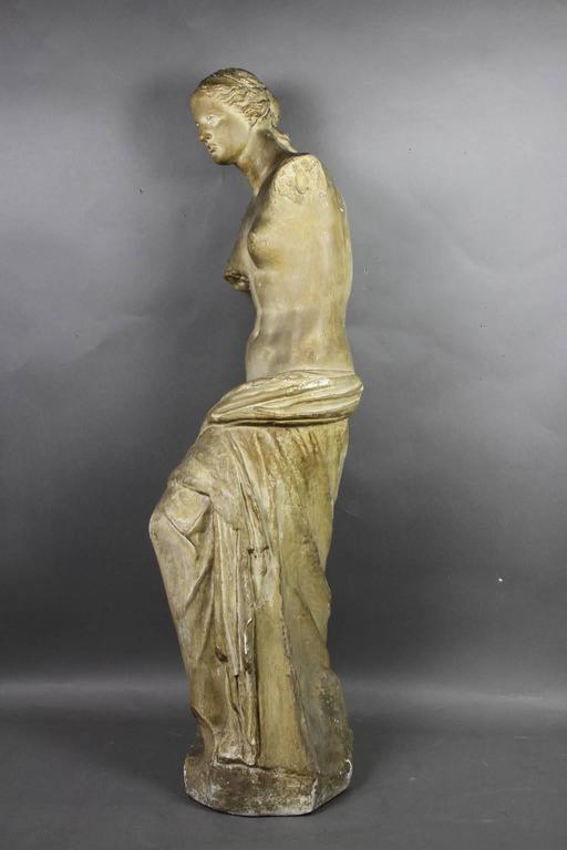 American Caproni Brothers Plaster Casting of Venus De Milo For Sale