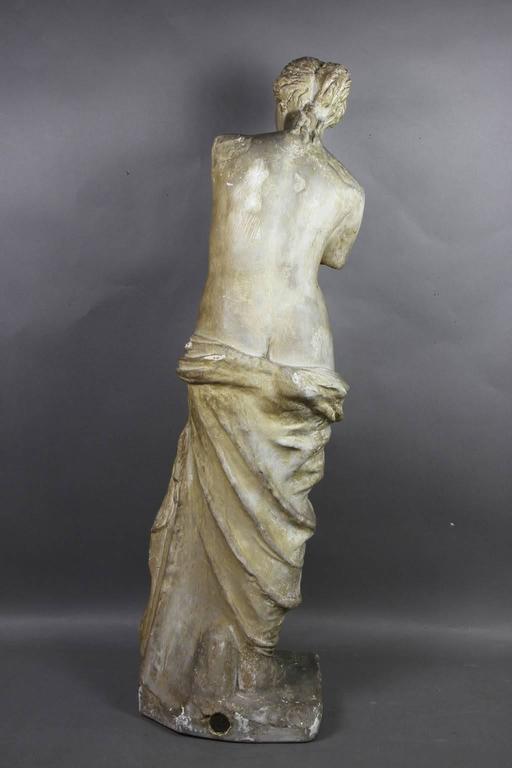 Caproni Brothers Plaster Casting of Venus De Milo In Good Condition For Sale In Essex, MA