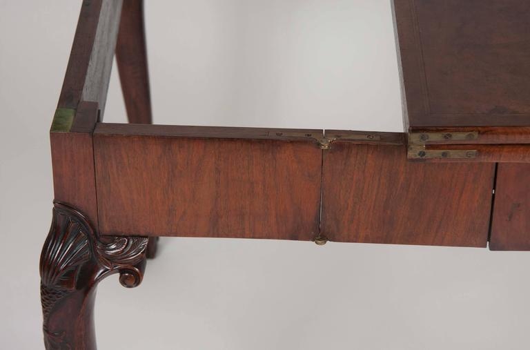George I Walnut Games Table For Sale 2