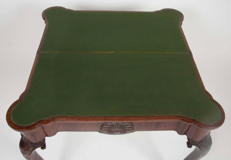 George I Walnut Games Table For Sale 4