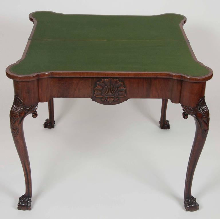 George I Walnut Games Table For Sale 5