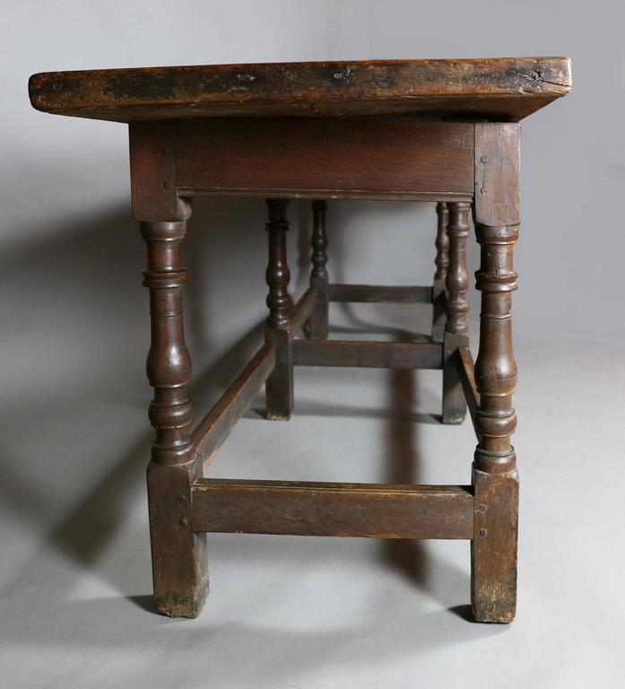 Jacobean Oak Refectory Table For Sale At 1stdibs