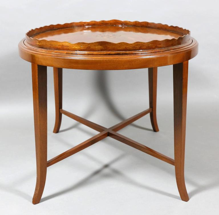 George Iii Mahogany Tray Top Coffee Table For Sale At 1stdibs