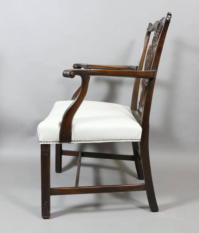 set of eight george iii style mahogany dining chairs for sale at
