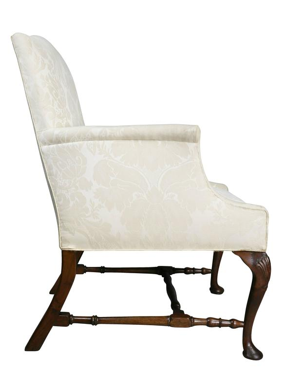 George I Walnut Armchair For Sale 2
