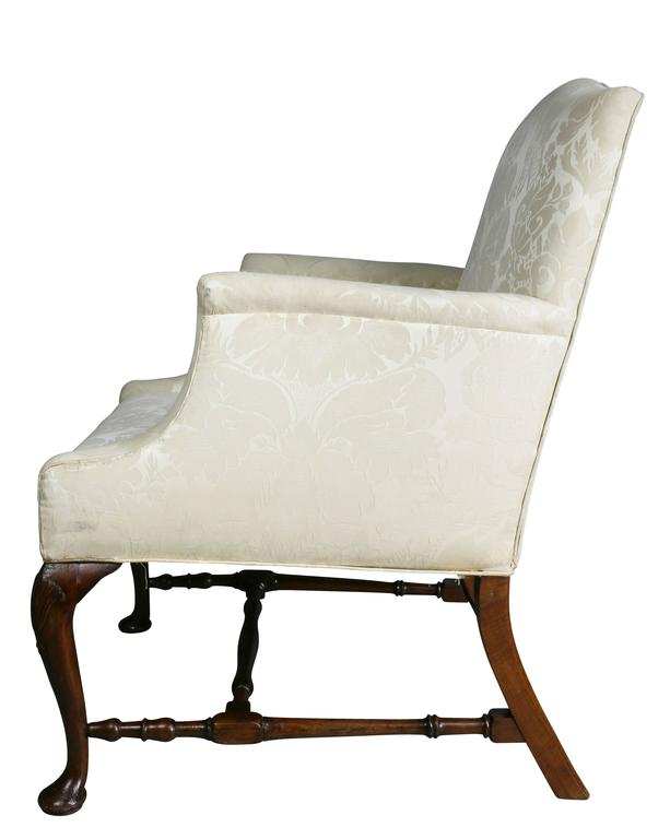 George I Walnut Armchair For Sale 4