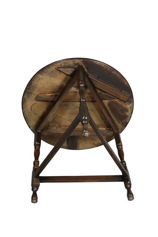 Regency Oak Cricket Table At 1stdibs