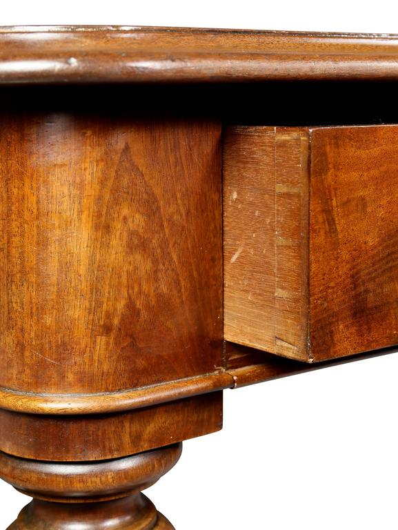 William IV Mahogany Writing Table or Desk For Sale 1