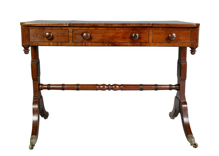 Unusual regency mahogany games table for sale at 1stdibs for Unusual tables for sale