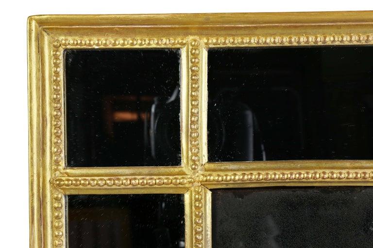English Regency Giltwood Mirror For Sale