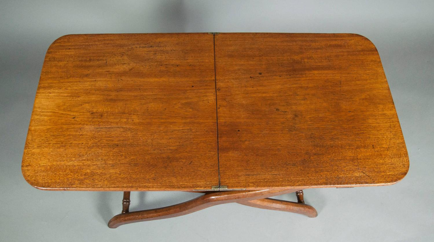 Victorian Mahogany Campaign Map Table Or Coffee Table For Sale At 1stdibs