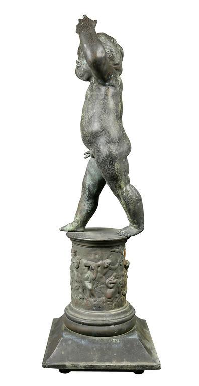 Classical Revival Figure of a Cherub 8