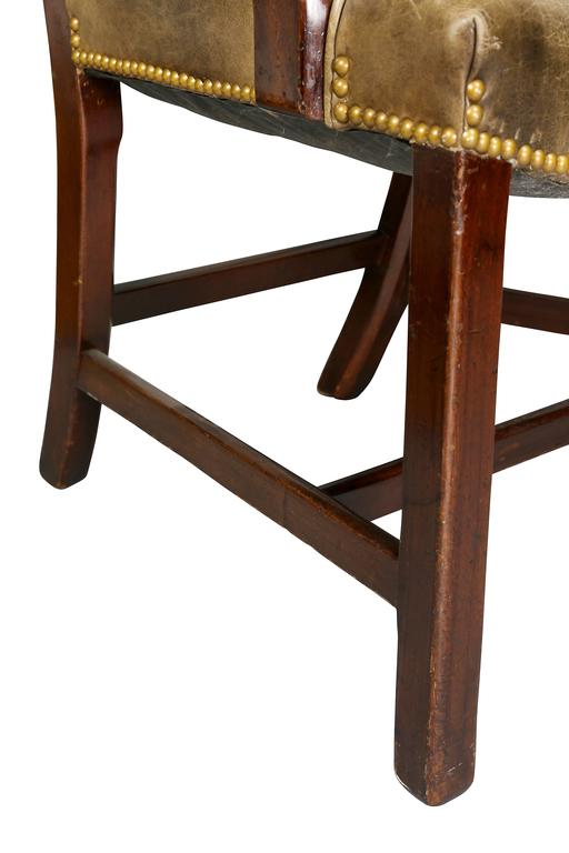 Set of Ten George III Style Mahogany Dining Chairs For Sale 2