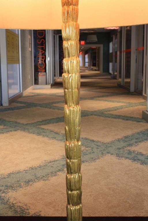 20th Century Gilt-Bronze Table Lamp by Maison BaguèS For Sale