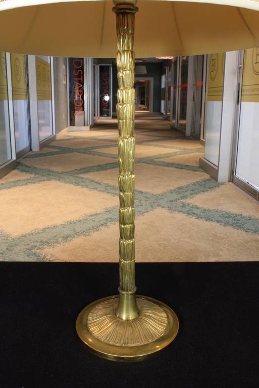 Gilt-Bronze Table Lamp by Maison BaguèS For Sale 1