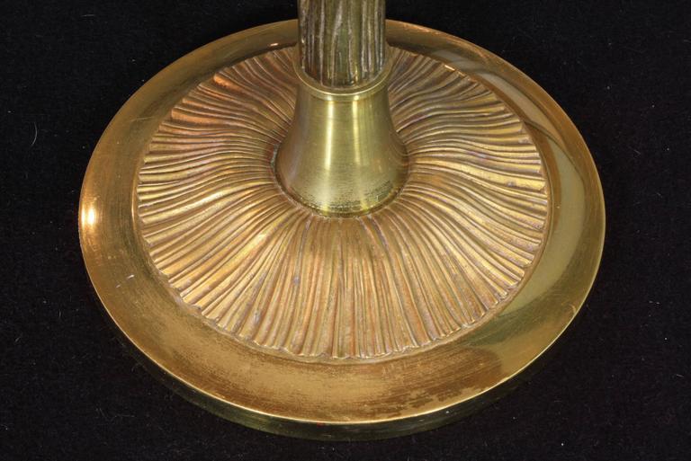 Gilt-Bronze Table Lamp by Maison BaguèS For Sale 2