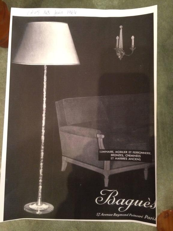 Gilt-Bronze Table Lamp by Maison BaguèS For Sale 4