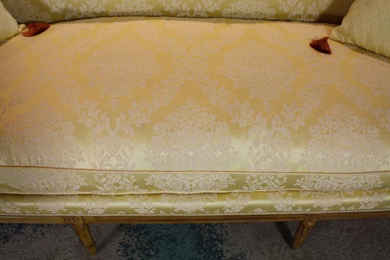 French Louis XVI Period Sofa For Sale 3