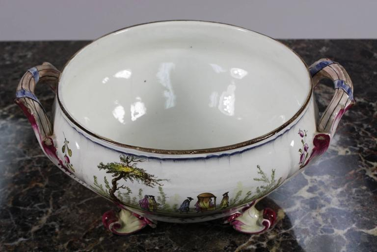 French Faience Jardiniere by Veuve Perrin For Sale 2
