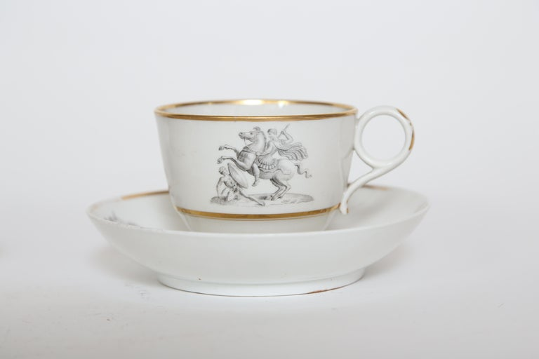 Flight Barr And Barr Worcester Set Of Six Cups And Saucers For Sale Best Decorative Cups And Saucers